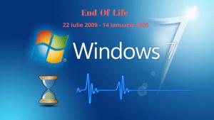Suportul pentru Windows 7 se încheie – ce e de făcut ?
