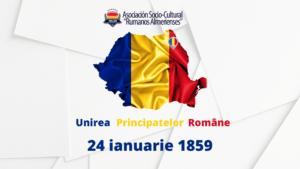 24 ianuarie 1859-împlinirea a 161 de ani de la Unirea Principatelor Române
