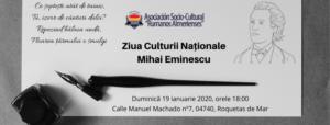 Ziua Culturii Naționale – Mihai Eminescu