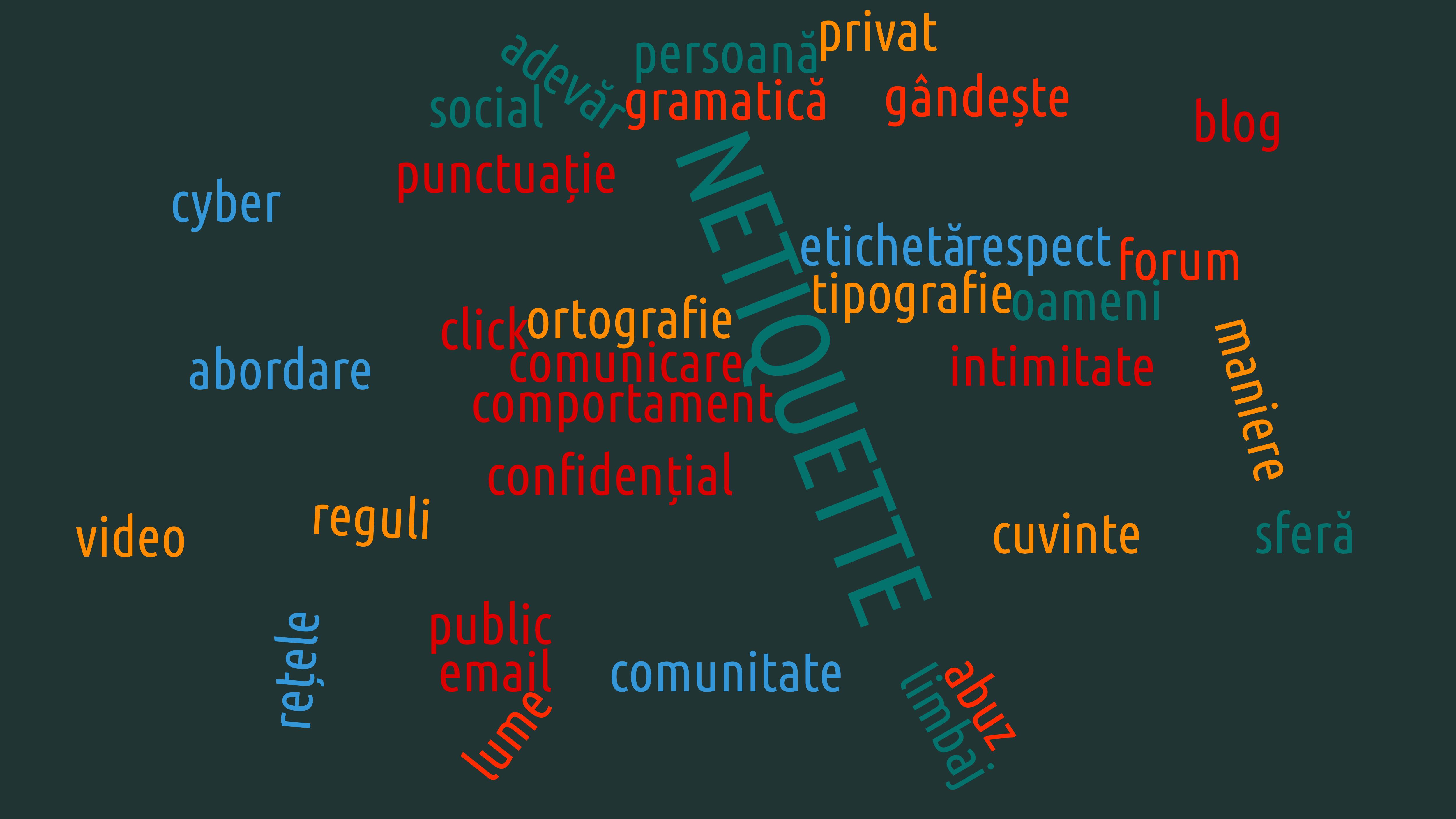 Read more about the article Netiquette – bunele maniere online